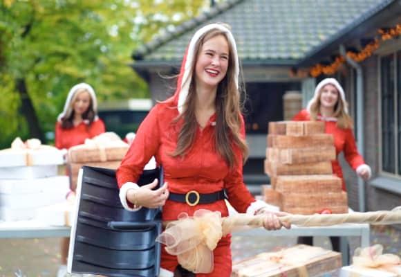 Kerst met Alfreds in en de kerstmeiden in Alphen aan den Rijn